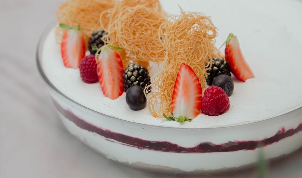 Kunafa Cheesecake